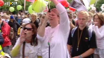 RTL Nieuws Emotionele demonstratie voor PGB