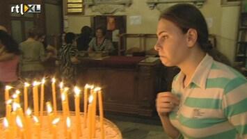 RTL Nieuws 'Drie kogels in zijn hoofd omdat hij christen was'