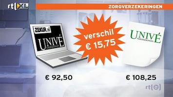 RTL Nieuws Online zorgverzekering veel goedkoper