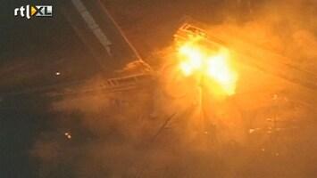 RTL Nieuws Wagons goederentrein ontploft in Ohio