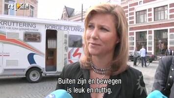 RTL Boulevard Prinses Martha Louise sport met gehandicapten