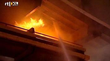 RTL Nieuws Hotel ski-oord in vlammen op