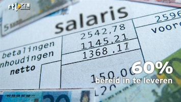 RTL Nieuws Bang voor baan, bereid in te leveren