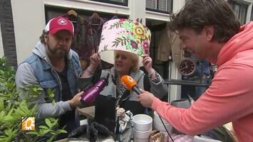 Carlo Boszhard en moeder Wil zetten de vrijmarkt op stelten