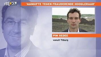 RTL Nieuws 'Fraude hoogleraar schokt universitaire wereld'