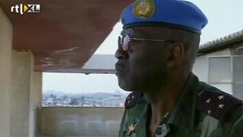 RTL Nieuws Hoofd VN-missie Syrië met tanks beschoten