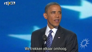 RTL Boulevard Obama spreekt op conventie