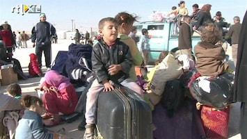 RTL Nieuws Vluchtelingenkamp puilt uit, duizenden kinderen