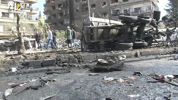 RTL Nieuws Zware bomaanslag in Syrië