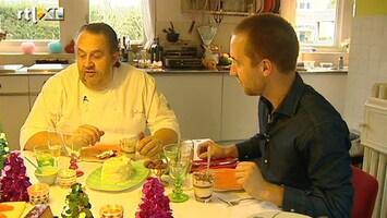 RTL Nieuws Julius Jaspers warmt kerstmaaltijden op