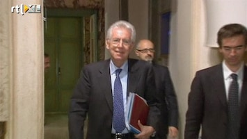 RTL Nieuws Formatie regering Monti afgerond