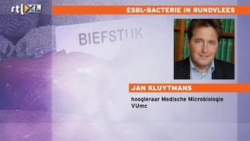 RTL Nieuws 'Antibiotica niet werkzaam door ESBL-bacterie'