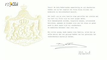 RTL Boulevard Koningin Beatrix en Mabel bedanken Nederland
