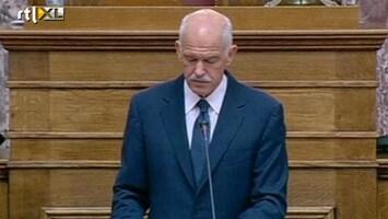 RTL Nieuws Grieks kabinet voor referendum