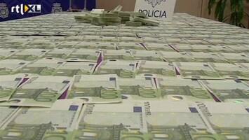 RTL Nieuws Spaanse politie neemt miljoenen aan valse euro's in beslag