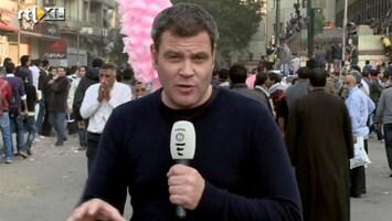 RTL Nieuws Roel Geeraedts vanaf Tahrirplein