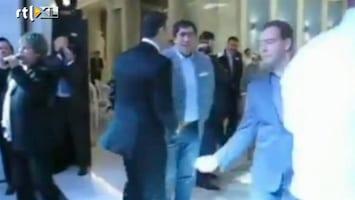 RTL Nieuws Medvedev, the dancing president