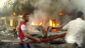 RTL Nieuws Chaos door autobom in Libanese hoofdstad