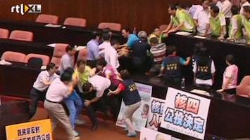 RTL Nieuws Politici op de vuist in Taiwan
