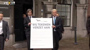 RTL Nieuws PVV-fracties slepen het verzet de straat op