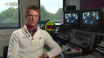 RTL GP: Formule 1 Interview GP2-coureur Nigel Melker
