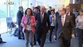 RTL Nieuws Beleggers vragen forse rente Spaanse staatsleningen