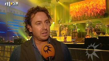 RTL Boulevard Marco Borsato na zijn poliepoperatie