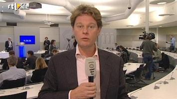 RTL Nieuws 'Met één been in een recessie'