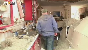 RTL Nieuws Kijkje in verwoest huis na tornado