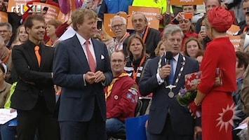 RTL Boulevard Rene van Kooten treedt op voor koningspaar