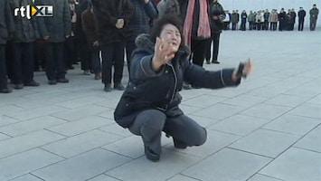 RTL Nieuws Dikke tranen om dood Kim Jong-il
