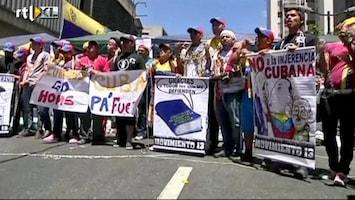 RTL Nieuws Venezolanen willen duidelijkheid over Chávez