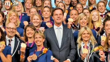 RTL Boulevard Mark Rutte huldigt medaillewinnaars