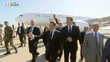 RTL Nieuws Sarkozy en Cameron bezoeken Tripoli