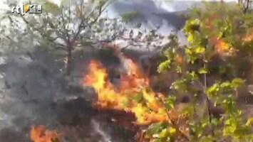 RTL Nieuws Weer grote duinbrand in Bergen
