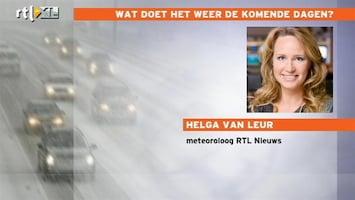 RTL Nieuws Helga van Leur: zondag dooi