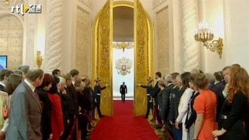 RTL Nieuws Poetin beëdigd als president