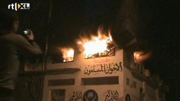 RTL Nieuws Vijf doden bij rellen in Caïro