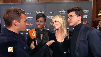 Aran over songfestivalloting: 'Chantal nam echt de leiding'