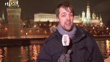 RTL Nieuws Wat vinden Poetin en Medvedev van de betogingen?