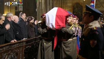 RTL Nieuws Tsjechië neemt afscheid van Vaclav Havel