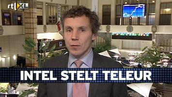 RTL Z Voorbeurs Intel loopt beetje achter de feiten aan