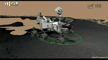 RTL Nieuws Marsverkenner Curiosity maakt ritje van 6 minuten