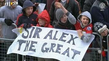 RTL Nieuws Sir Alex Ferguson gaat met pensioen