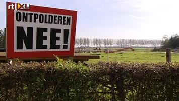 RTL Nieuws Miljoenenclaim dreigt om Hedwigepolder