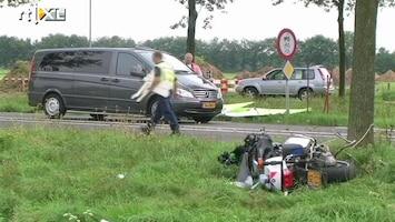 RTL Nieuws Motoragent verongelukt in Beek
