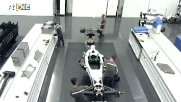 RTL GP: Formule 1 Sauber maakt bolides gereed voor transport