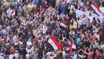 RTL Nieuws Opnieuw boze menigte bijeen op Tahrirplein in Caïro