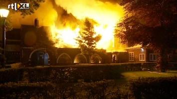 RTL Nieuws Gemeentehuis Waalre afgebrand