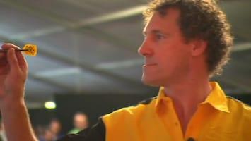 Jacques en Marcel op het Dutch Open Darts